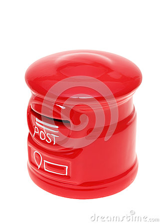 Post Bank Style Money Box Stock Image - Image: 29374391