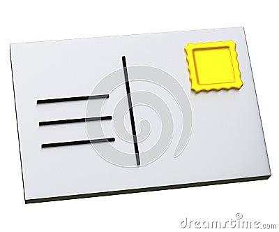 Post card 3d