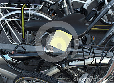 Post-it and cycle
