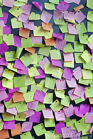 Free Post-it Stock Photo - 14643550