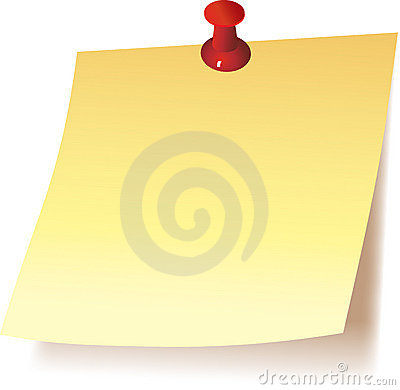 Free Post It Note Royalty Free Stock Photo - 8123545