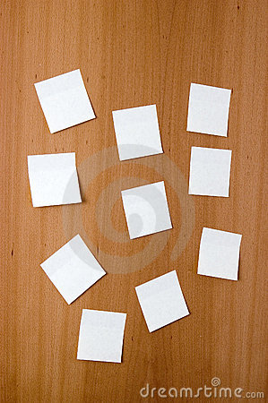 Free Post-its Stock Image - 1355491