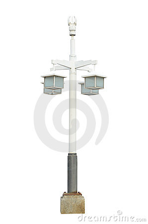 Post Lamppost Street Road Light Pole