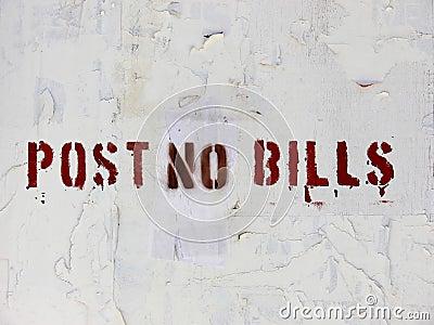 Post No Bills