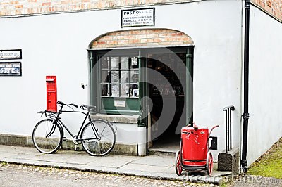 Post office Editorial Photography