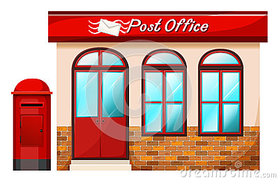 Post Office Stock Photography Image 34803142