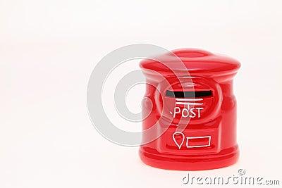 Post packar ihop utformar sparbössan