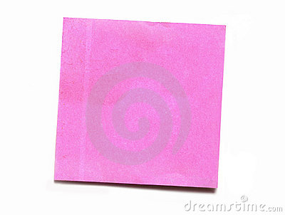 Post-it Pink