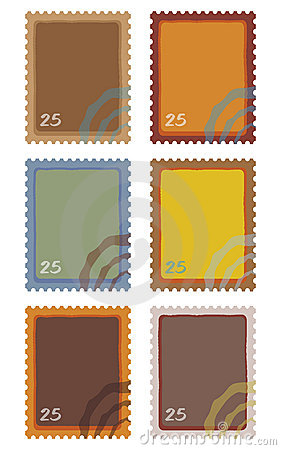 Free Post Stamps Stock Images - 18971884