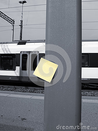 Post-it and station