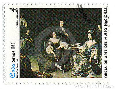 Postage stamp. Editorial Stock Image