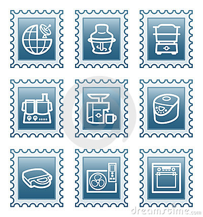 Postage stamp set 17