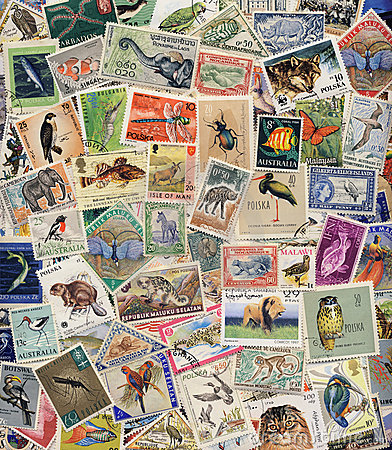 Postage Stamps of Wildlife
