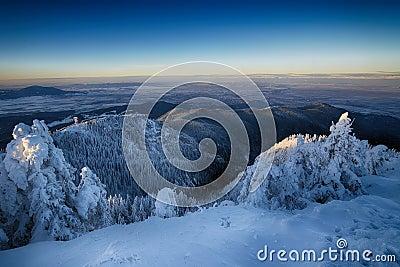 Postavaru mountain, Poiana Brasov resort, Romania