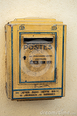 Postbox in France