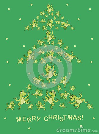 Free Postcard For Christmas. Royalty Free Stock Photo - 106015225