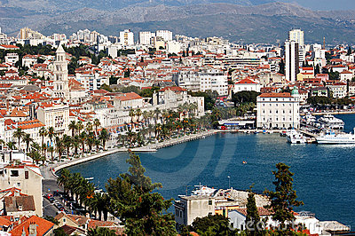 Postcard from Split, Croatia