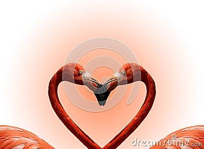 Postcard Valentine's Day Stock Photo