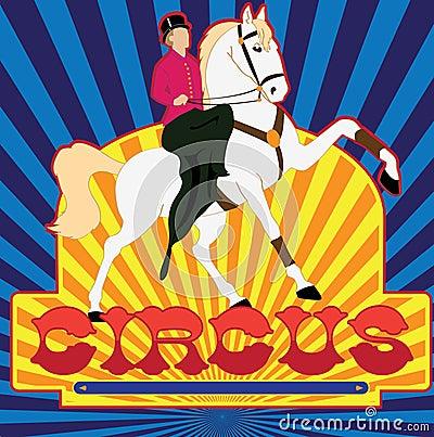 Poster of circus
