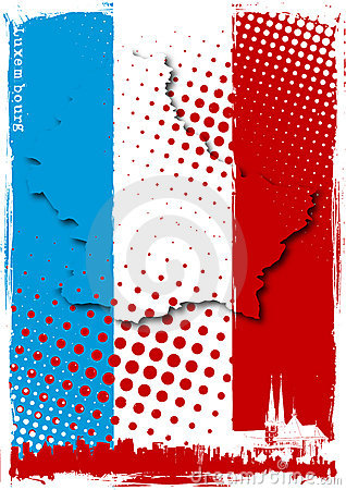 Poster of luxembourg