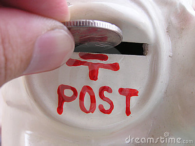 Posting money