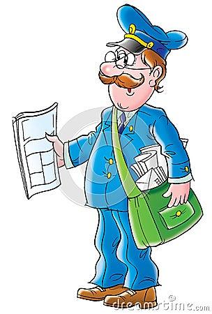 Free Postman Royalty Free Stock Image - 3034546