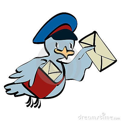 Postman pigeon