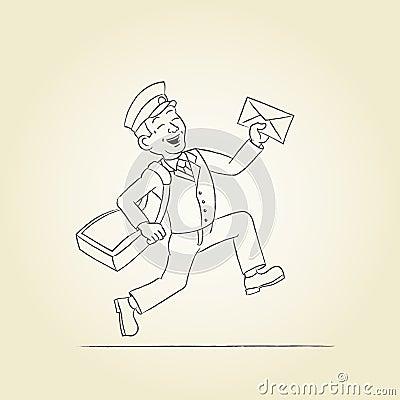 Postman sketch