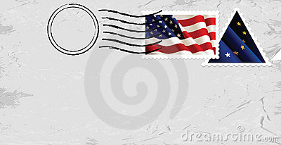 Postmark & Stamp flags