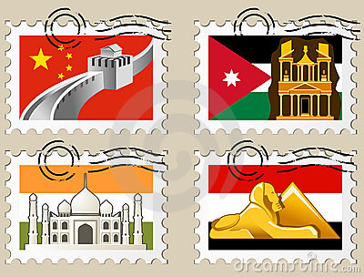 Postmarks - sights of the world series