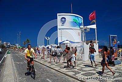 posto 9 ipanema rio de janeiro  brazil editorial stock lifeguard cross clipart lifeguard clipart black