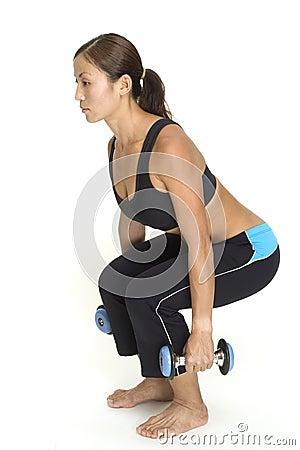 Posture accroupie 1