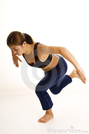 Posture accroupie unijambiste 2
