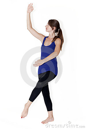 Posture of Shiva dancing