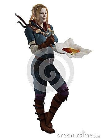 Poszukiwacz przygód posiłku przerwa