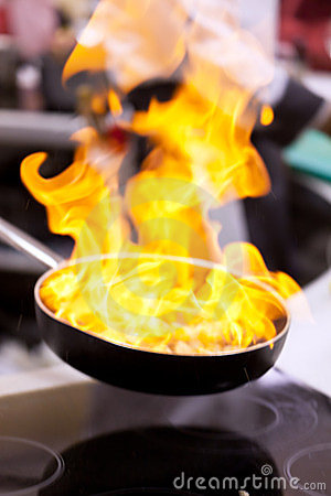 Free Pot With Fire Stock Photos - 23486853