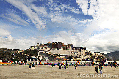 Potala Palace Editorial Photo