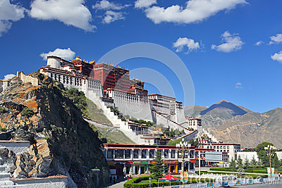 Potala palace 3 Editorial Image