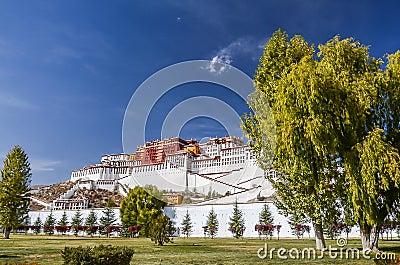 Potala Palace in Lhasa