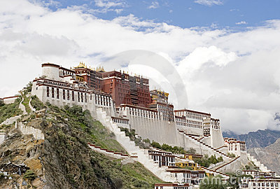 Potala Palace (in Lhasa, Tibet)