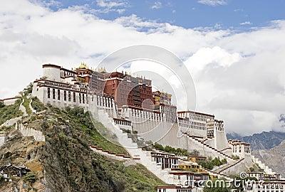 Potala Palace (in Lhasa, Tibet)