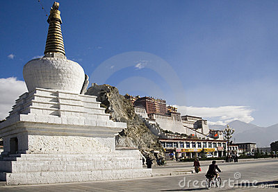 Potala Palace - Lhasa - Tibet Editorial Photo