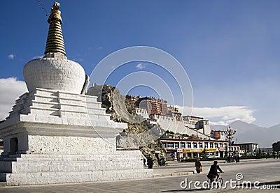 Potala Palace - Lhasa - Tibet Editorial Photo