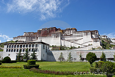 Potala Palace postcard
