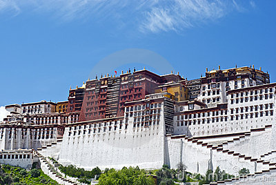 The Potala Palace - Right View
