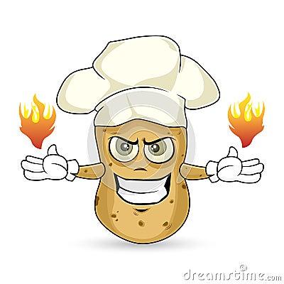 Potato - burn
