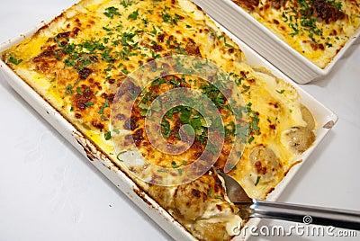 Potato cheese bake