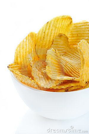 Free Potato Chips. Stock Images - 19631074