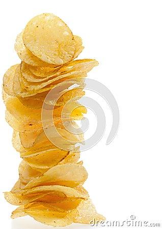 Free Potato Chips Stock Photos - 23821703