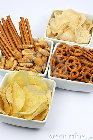 Free Potato Chips And Snacks Stock Photography - 3868092